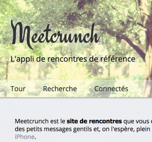Site de rencontre homme meetcrunch