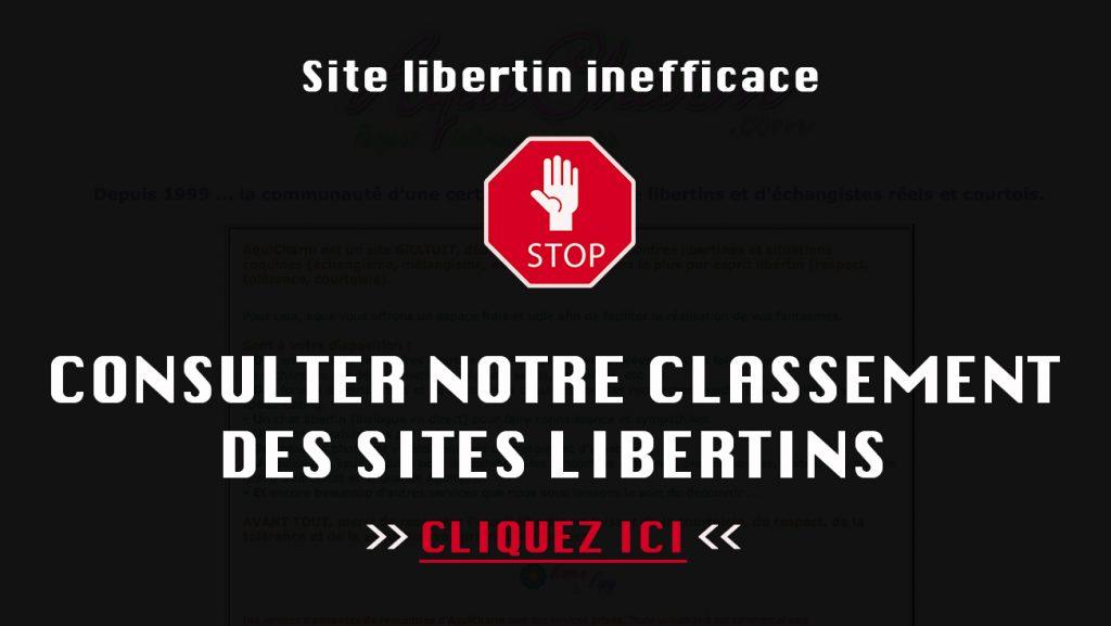 meilleur site libertin