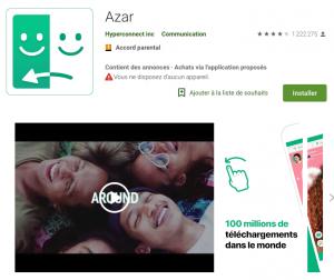 Avis sur l'application de rencontre Azar