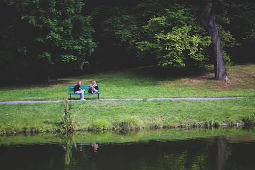 drague dans un parc